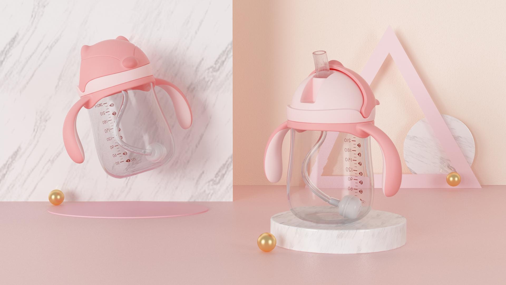 BPA משלוח מותאם אישית לוגו תינוק בקבוקי האכלה ידידותית לסביבה מזון כיתה PP תינוקות חלב בקבוק