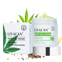 LIYALAN OEM custom private label hemp Extract cbd pain relief hemp cbd cream for muscle neck pain
