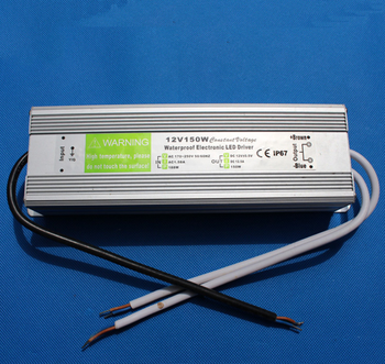 IP67 waterproof led power supply 12v 150w led driver for outdoor led lighting