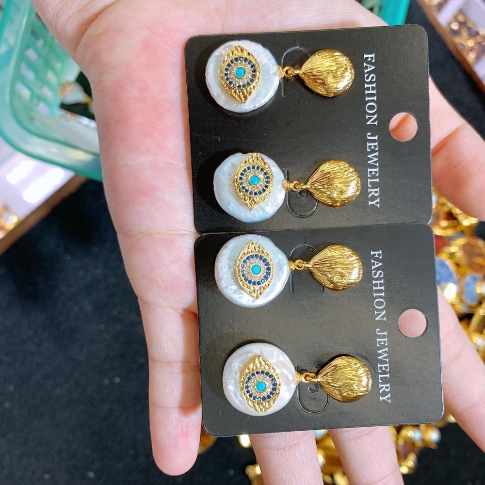 CM-Xinyee Wholesale women's earrings, earrings for charm eye, fashion simplicity фото
