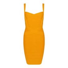 Женское Бандажное платье на тонких бретельках, летнее многоцветное Клубное платье мини, элегантные вечерние платья знаменитостей(Китай)