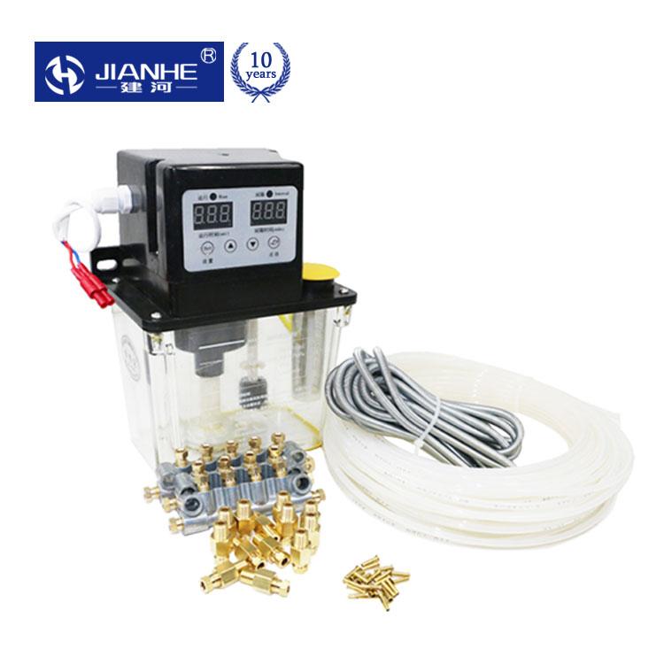 좋은 DCR-50/1C 1L 13 윤활유 포인트 전자기 자동 윤활 펌프 AC220V 디지털 전자 타이머 CNC 기계