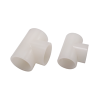 All Size Available HDPE PVC UPVC PVDF Plastic Pipe Fitting Elbow Reduced Tee