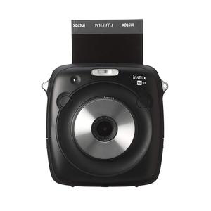 Easy to use instant camera Fujifim instax square SQ 10 camera with lighten and darken mode(Black color)