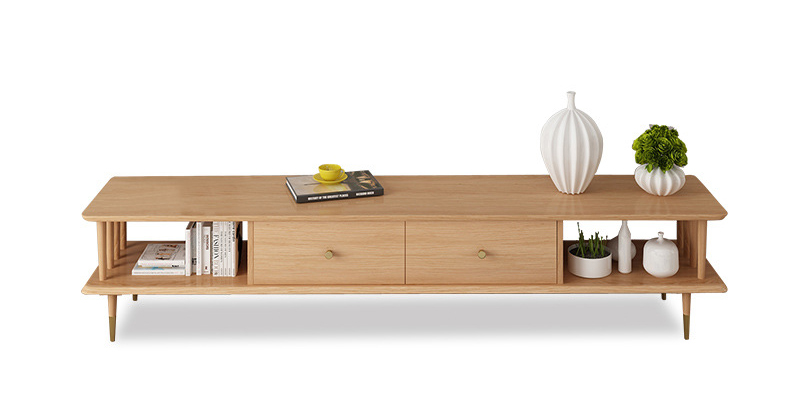 product-Modern living room furniture wall tv cabinet solid wood natural solid wooden tv table furnit