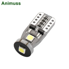 T10 3030 3SMD Foutloos Canbus LED Licht Witte Auto Wedge Side Gloeilampen