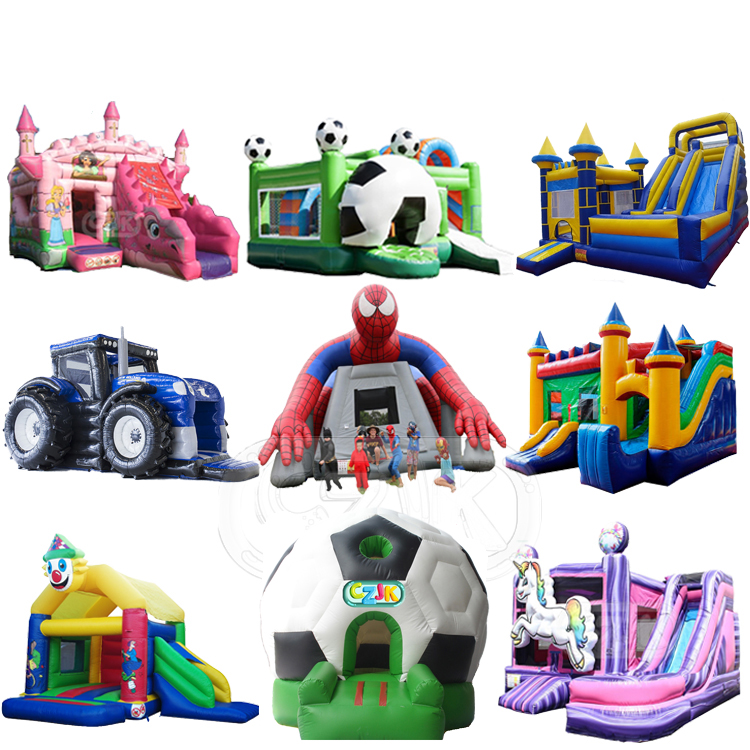 commercial use air blower inflatable combo bouncer jumping bouncy castle bounce house for kid