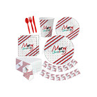 Birthday Party For Boy Supply Product Disposable Christmas Party Decoration Set