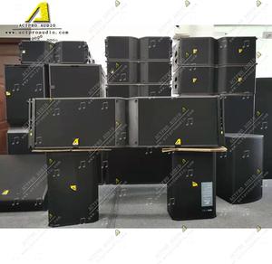 Three way dual 12 inch line array speaker  K2  line array speaker LA8 amplifier professional loudspeaker