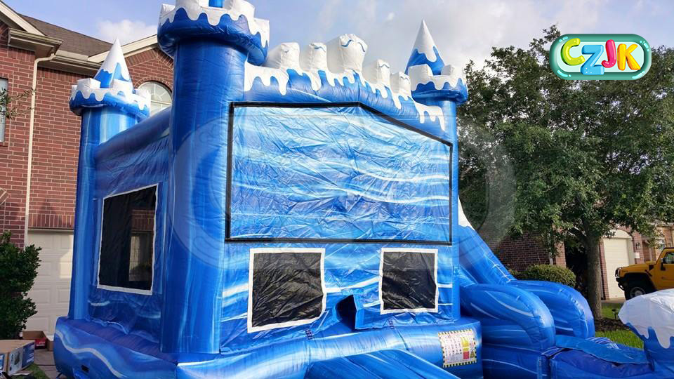super winter inflatable jumper bouncer jumping bouncy castle bounce house