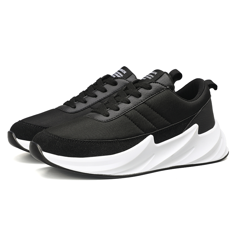 China Cheap 2019 Men Latest Design Sports Running Shoes Wholesale,Fashion Breathable Sneakers For Man