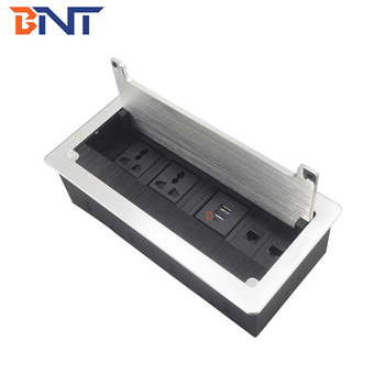 Meeting table hidden socket type table usb power socket with laser logo service