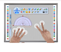 "iBoard 84"" Infrared Interactive Whiteboard Multi Touch Smart whiteboard 78 82 90 96 104 customized size"