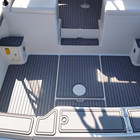 Synthetic Anti UV Floor Decking Yacht Boat Flooring Synthetic Marine Mat Moreva NBR Eva Foam Teak
