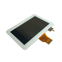 Capacitive LCD Panel 7 Inch LCD Screen 800x480 LCD Display With 50 Pin RGB Interface