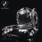 Glass Gift Wholesale Wedding K9 Glass Clear Diamond Paperweight Custom Crystal Diamond Souvenir Gift