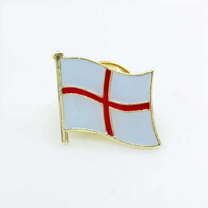 Hot selling custom soft enamel union jack badge