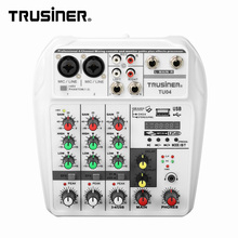 New Style Mini Mixer Console Usb 4 Channel Audio Interface Cheap