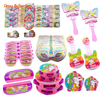 Birthday Party Toy Assortment Unicorn Party Gift For Girls Carnival Prizes Pinata Fillers Goody Bag Stocking Stuffer