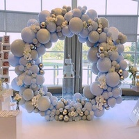 CYmylar wedding souvenirs guests balloon circle metal stand balloon arch kit for wedding decoration backdrop