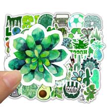 50 шт. мультяшный зеленый INS стиль Vsco девушка наклейка s для ноутбука мото скейтборд багаж холодильник ноутбук игрушечный Ноутбук наклейка F5(Китай)