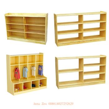 Unfinished Wood Storage Shelves