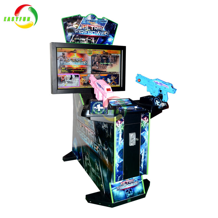The most popular exciting gun shooting Ultra Firepower game machine