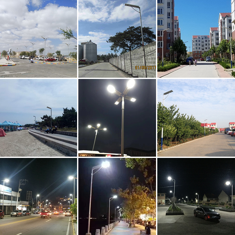 smart motion sensor outdoor waterproof IP65 integrated all in one led solar street light 10w 15w 20w 30w 40w 50w