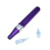 Auto Purple Newest Microneedling Nano Derma Stamp Electric pen Wired Dr pen X5 - C Electric Derma Pen Anti-Hair Removal