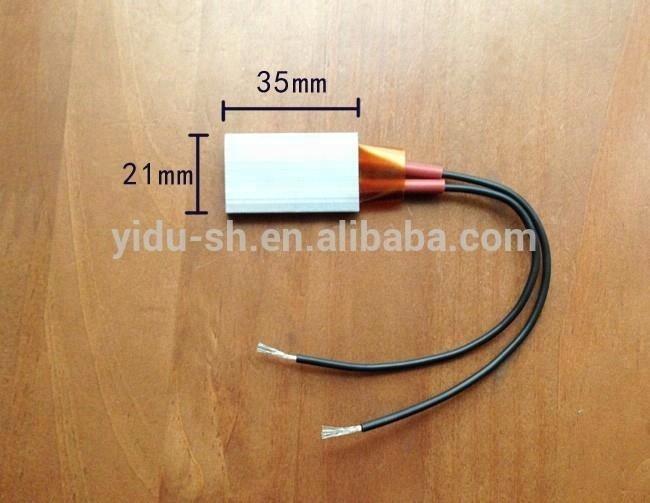 PTC heater 12V AC/DC 35*21mm PTC Heating Element Electric Heater Plates