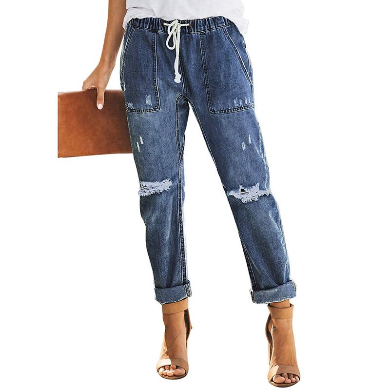 nueva estilos dec66 e3479 Venta al por mayor jean anchos para mujer-Compre online los ...