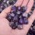 Bulk Wholesale Irregular Amethyst Loose Tumbled Gemstone  Crystal healing Stone