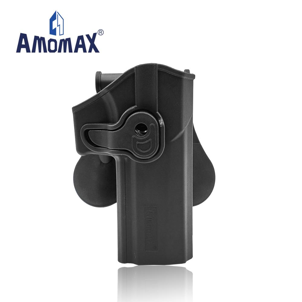 Military Hot-sale Polymer Quickly Draw and Retention Amomax airsoft tactical <strong>Holster</strong> for Sig Sauer P320 full size
