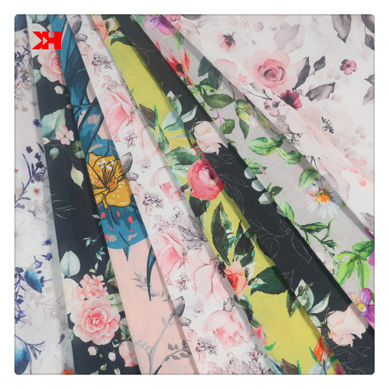 Colorful Organic Liberty Custom Printed 100 Cotton Fabric Prices For Children Clothing