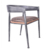 Cheap wooden metal french bar party bistro chairs