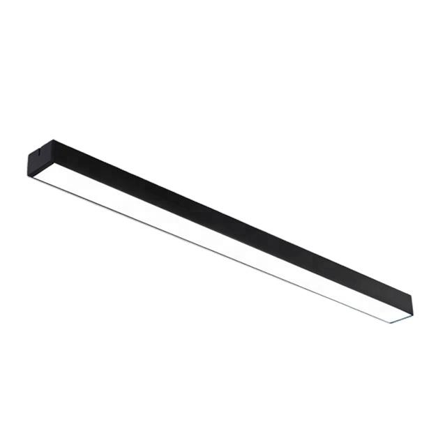 Lâmpadas de tubo de led luminárias lineares suspensas 18w 24w 36w led batten light para escritório