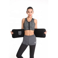 High Quality Large Size 4XL 5XL 6XL Neoprene Sauna Sweat Vest Body Shaping Slim Corset Waist Trimmer with Pocket Inside