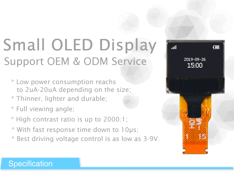 small oled display