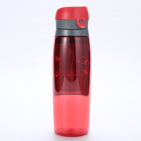 Sports Wallet Bottle Drinking Water Bottle With Storage Compartment