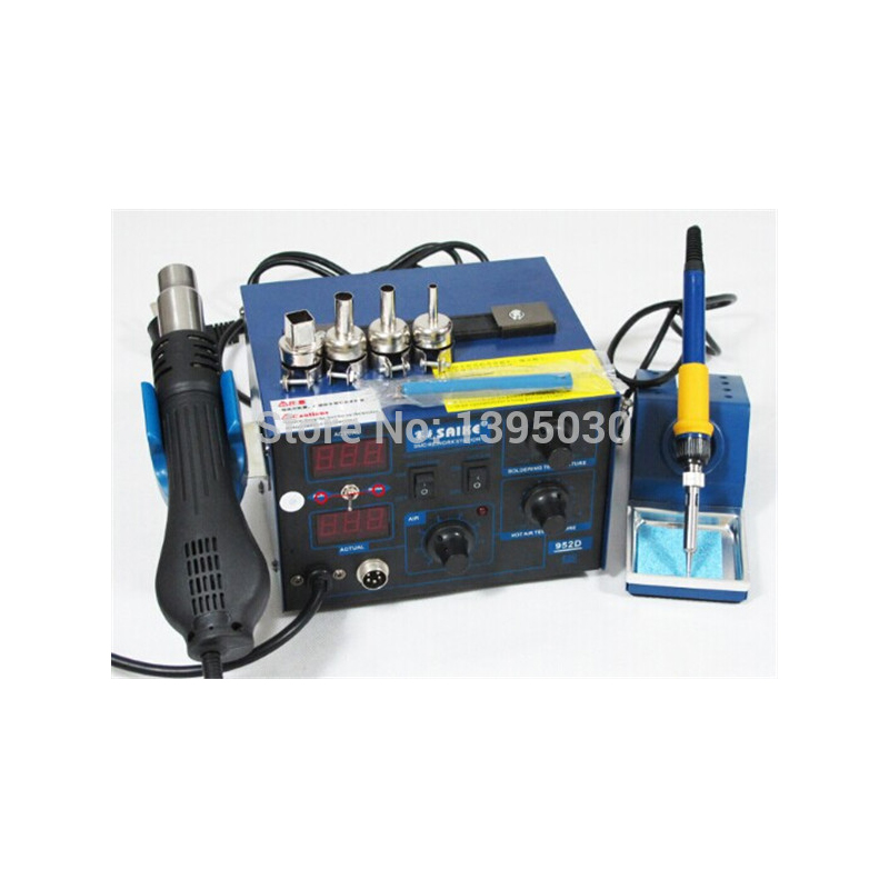 ใหม่มาถึง saike rework station hot air gun soldering station
