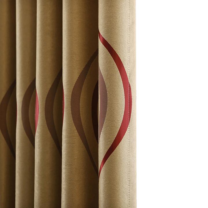 Wellenlinien Gestreiften Küche Vorhänge für Wohnzimmer Schlafzimmer