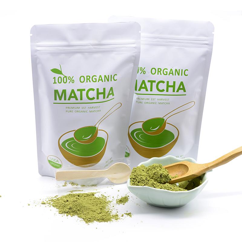 Best quality 100% Pure Slim Japanese Matcha Powder Organic Matcha Green Tea Certified Organic - 4uTea | 4uTea.com