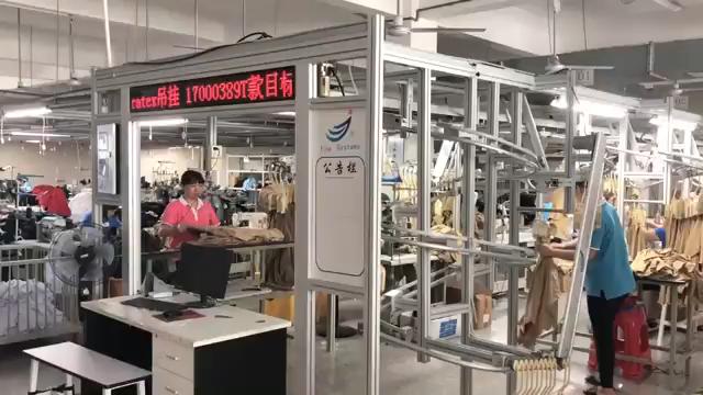 Insファッションラッキーラベル服女性長袖ジッパークロップトップ秋2ピースセット
