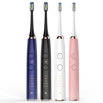 2020 products high quality electric toothbrush 360 degree waterproof rechargeable travel sonic toothbrush tooth brush