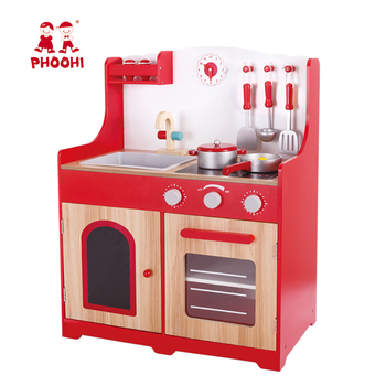 Children Pretend Simulation Food Play Toy Wooden Kids Kitchen Set For  Toddler 3+ - Buy Kitchen Toy,Kids Kitchen Set,Toy Kitchen Sets Product on  ...