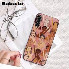 Babaite эстетика Минимальная девушка мощность феминистский чехол для телефона для huawei P20 P30 P20Pro P20Lite P30Lite Psmart P10 9lite(Китай)