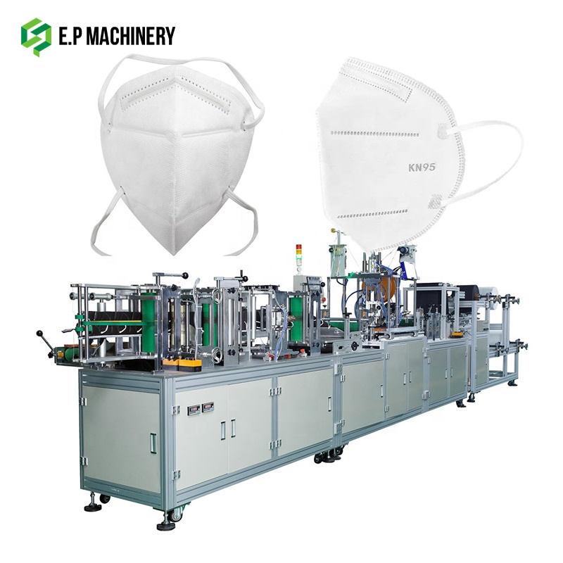 STOCK Making Surgical Children N95 mask Machine with Breathing Valve