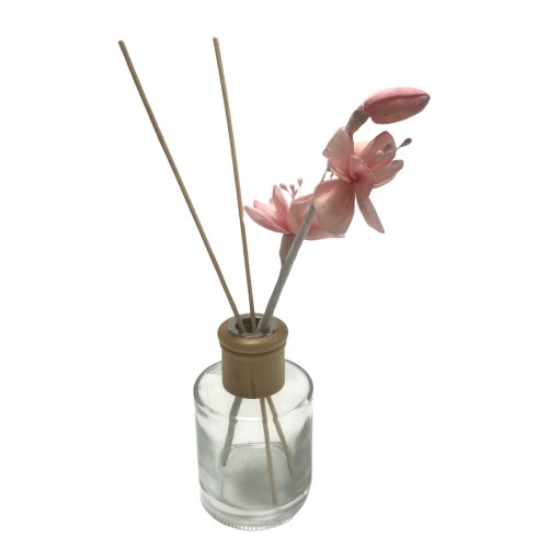 New products eco-friendly feature hot sale big color diffuser hanmade innovative sola wood flowers flower with bud