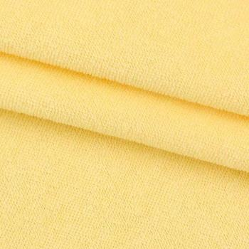 Thick weft 100 cotton french terry knitted fabric knit pure cotton fabric french waterproof terry cloth for bedding