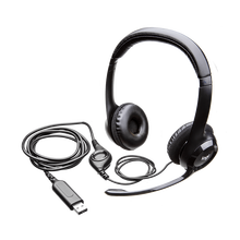 <span class=keywords><strong>Logitech</strong></span> H390 Wired Computer <span class=keywords><strong>Headset</strong></span> Mit Noise Reduction Faltbare MicWith Volumen/Mute Control Kopfhörer
